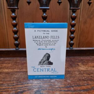 The Central Fells - 50th Anniversary Edition. Printed in Kendal