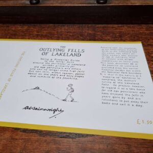 The Outlying Fells First Edition Dust Jacket