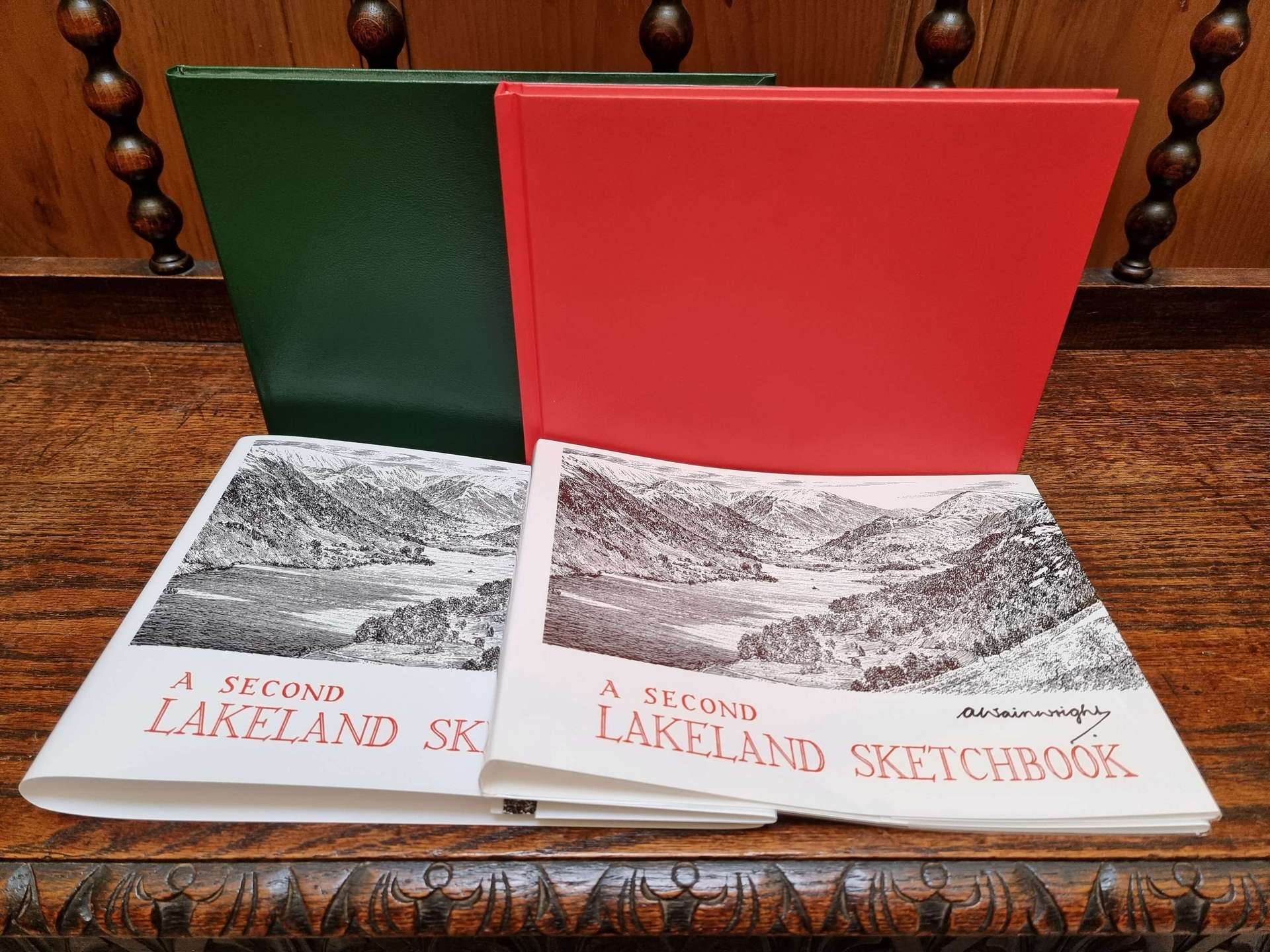 A Second Lakeland Sketchbook First Edition Later Prints