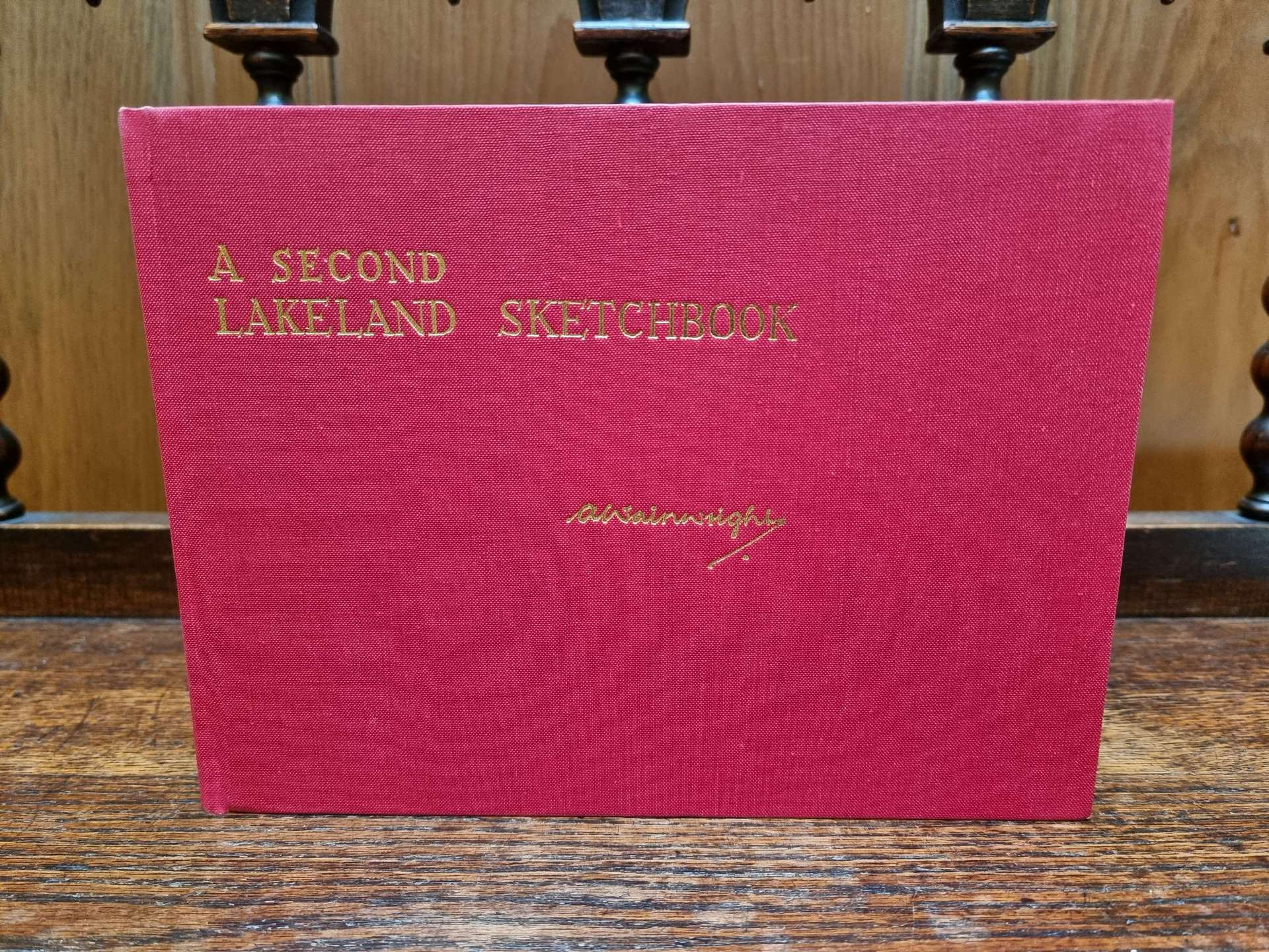 A Second Lakeland Sketchbook First Edition without the Dust Jacket